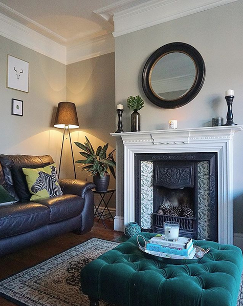 How we picked our Living Room colour palette