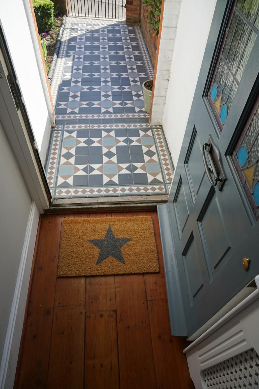 Spruce up your doorway