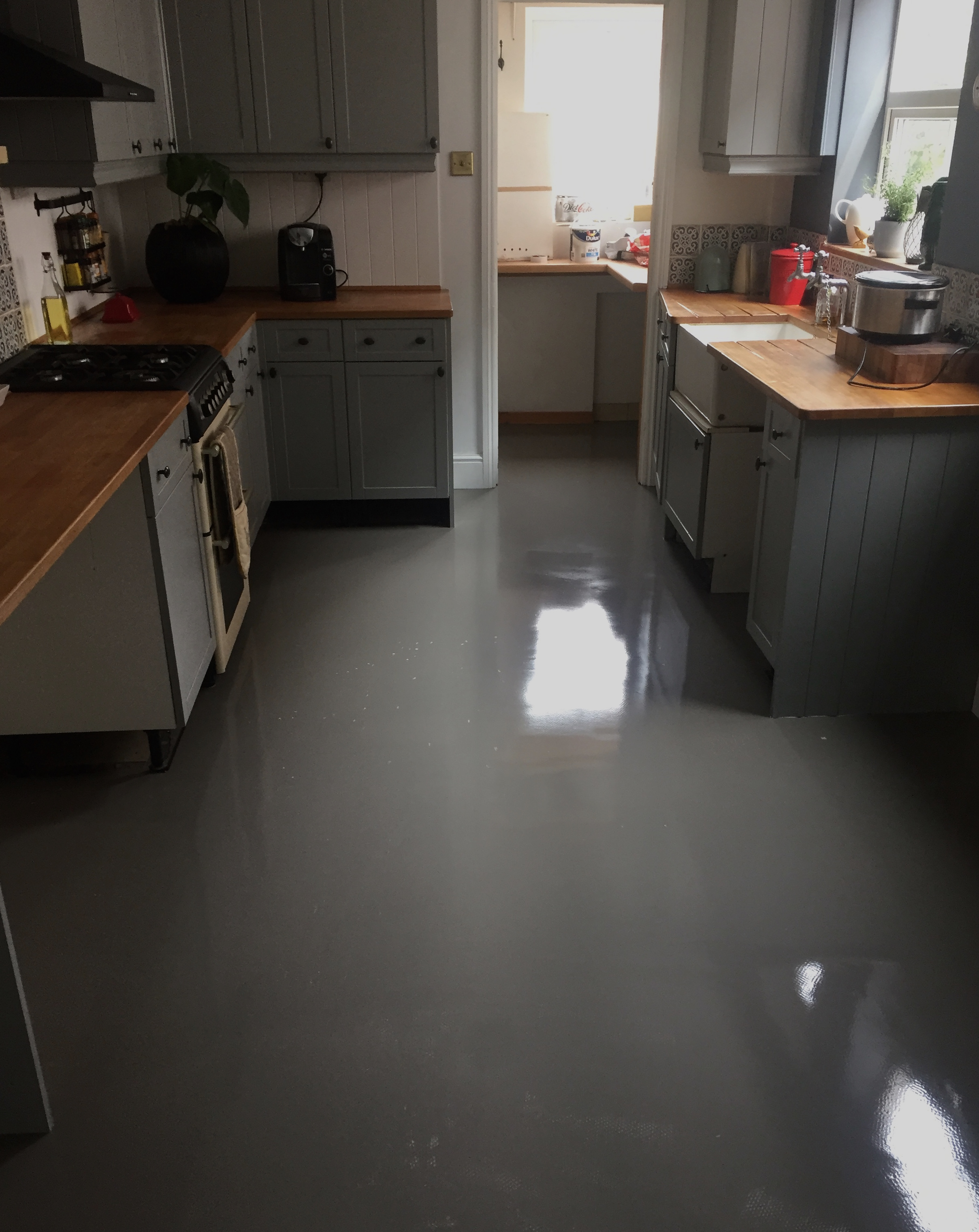 How To Update Your Floor Tiles With Polyflor End Of The Row